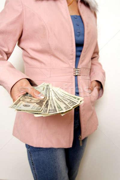 Spending money Stock photo © aremafoto