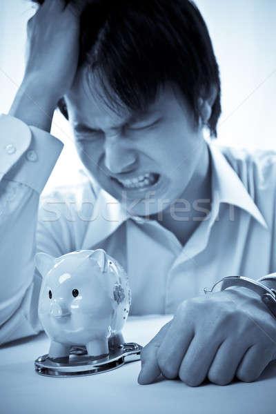 Financial hardship Stock photo © aremafoto