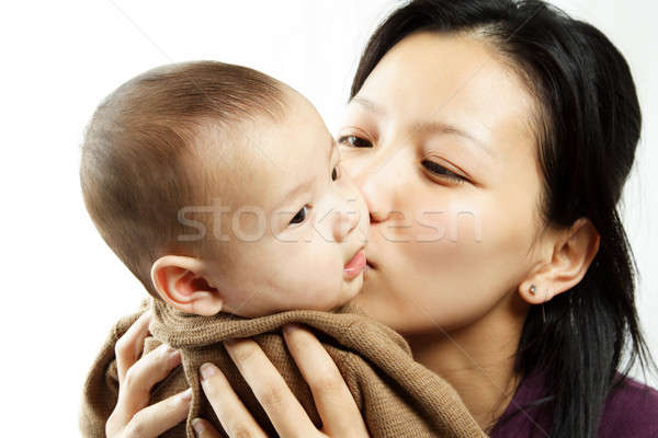 Mother and son Stock photo © aremafoto