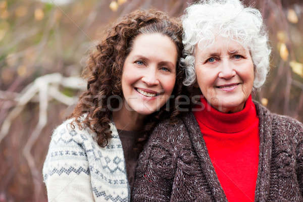 Grandmother with her daughter Stock photo © aremafoto