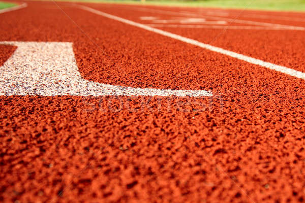 Track and field Stock photo © aremafoto