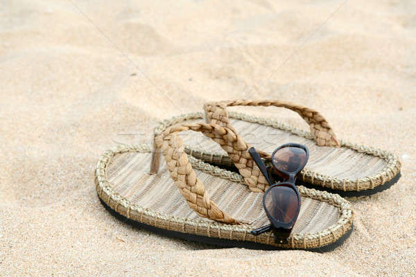 Beach vacation Stock photo © aremafoto