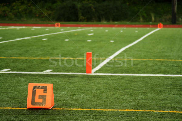 Goal line Stock photo © aremafoto