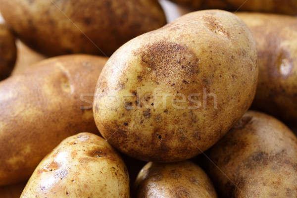 Potatoes Stock photo © aremafoto