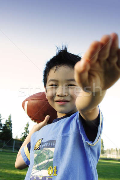 Football player Stock photo © aremafoto