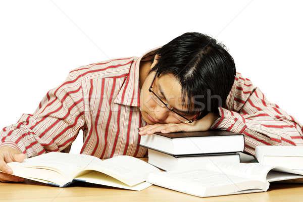 Tired man Stock photo © aremafoto