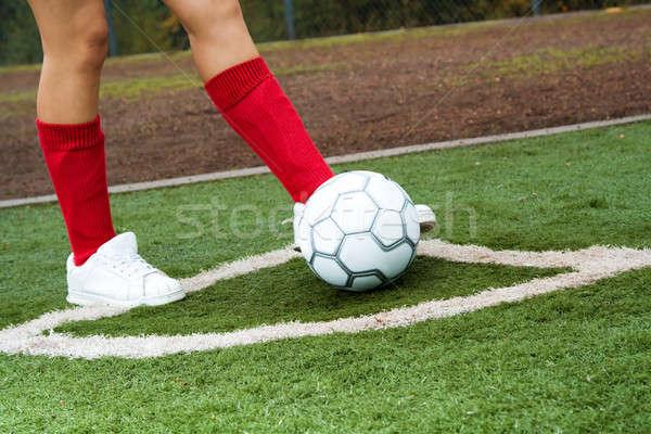 Soccer player Stock photo © aremafoto