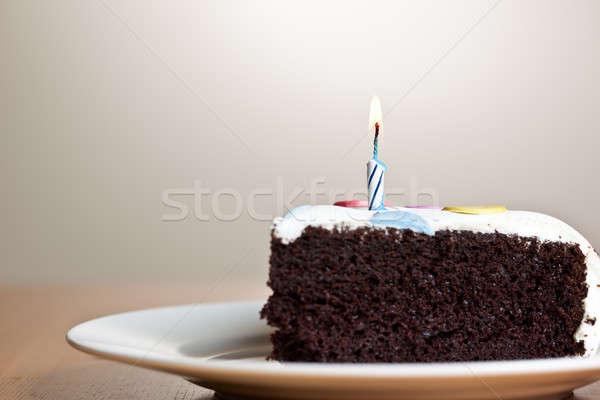 Birthday cake Stock photo © aremafoto