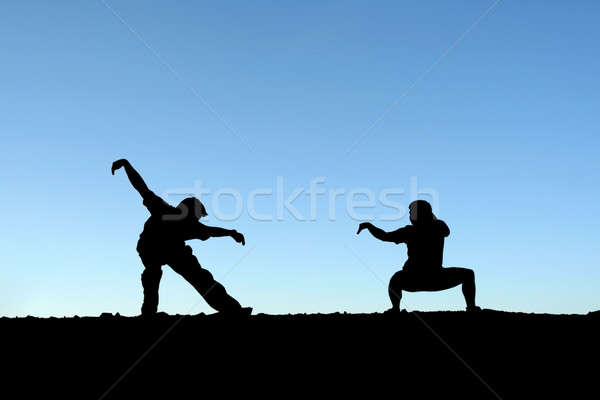 Martial arts Stock photo © aremafoto