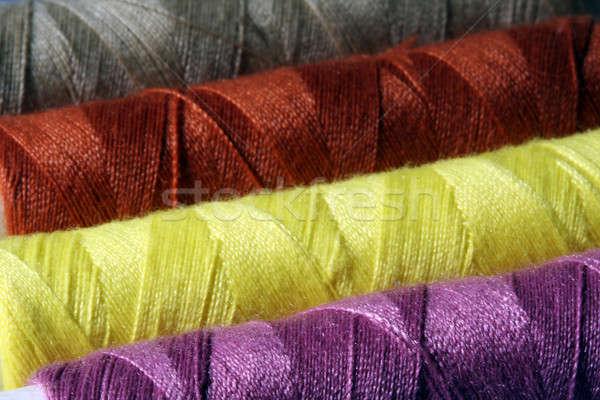 Colorful threads Stock photo © aremafoto