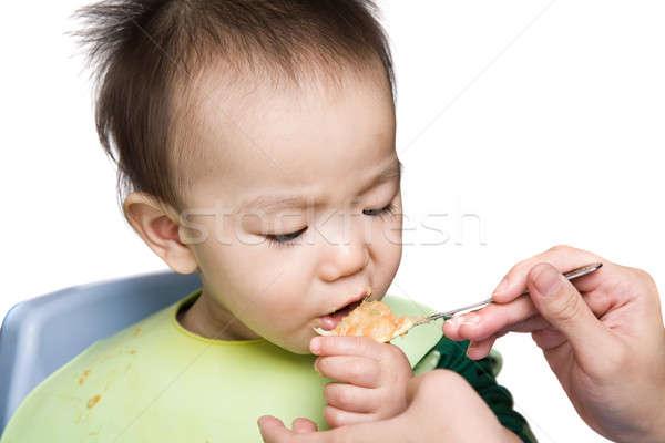 Baby feeding time Stock photo © aremafoto