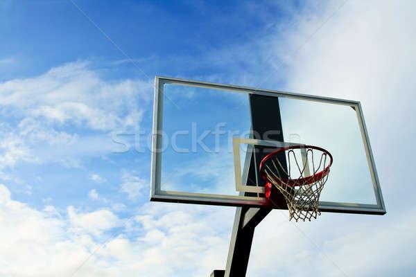 Basketball hoop Stock photo © aremafoto