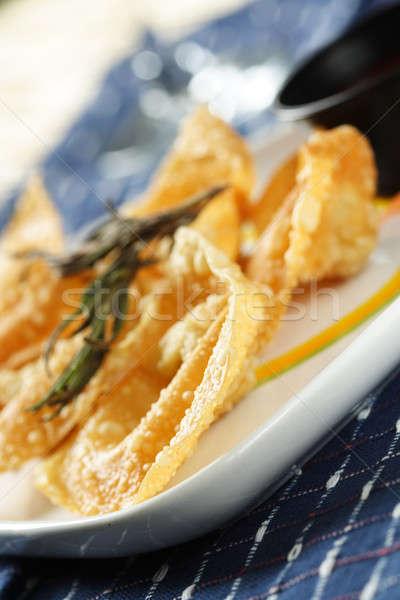 Chinese fried dumplings Stock photo © aremafoto