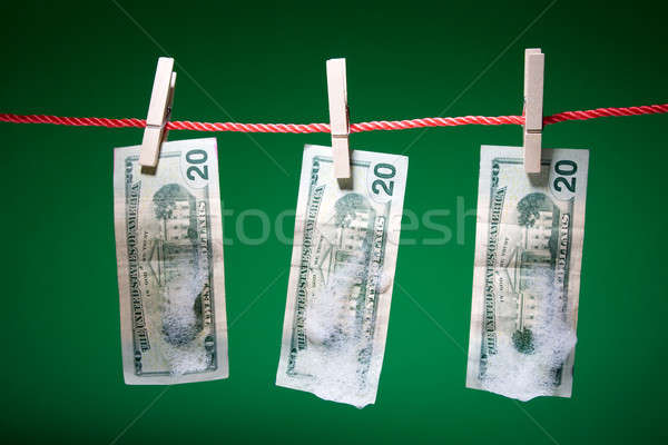 Money laundering Stock photo © aremafoto