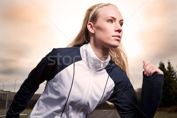 Woman exercise Stock photo © aremafoto
