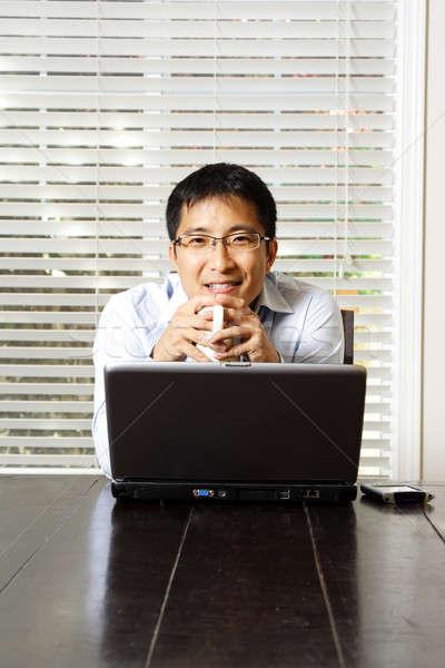 Working businessman Stock photo © aremafoto