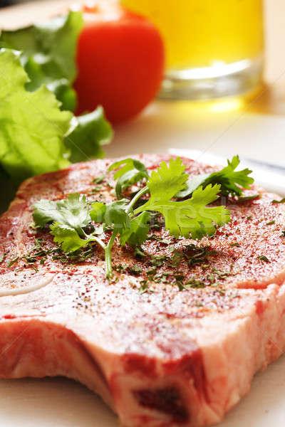 Ribeye steak Stock photo © aremafoto