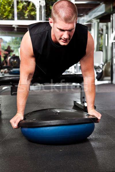 Training athlete Stock photo © aremafoto