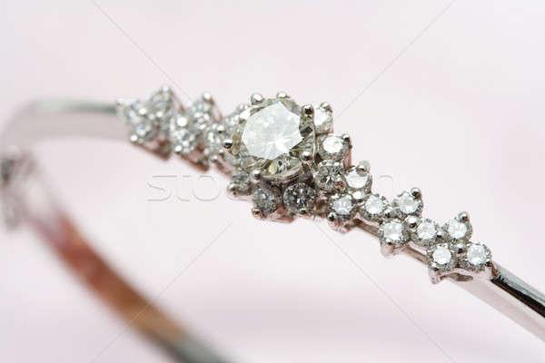 Diamond jewelry Stock photo © aremafoto