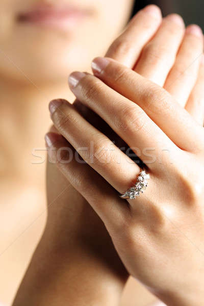 Diamond ring Stock photo © aremafoto