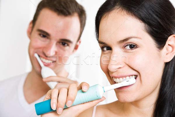 Сток-фото: пару · ванную · красивой · семьи · здоровья