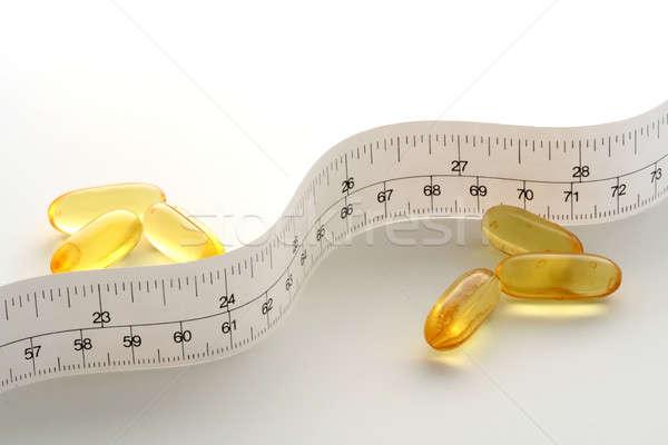 Diéta vitamin orvosi egészség beteg törődés Stock fotó © aremafoto