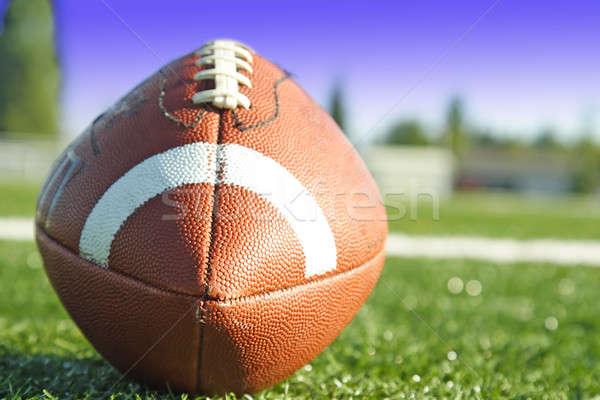 Football coup terrain de football Photo stock © aremafoto
