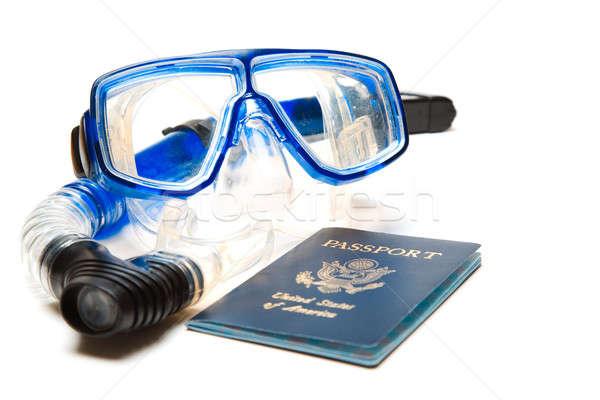 Travel and snorkeling Stock photo © aremafoto