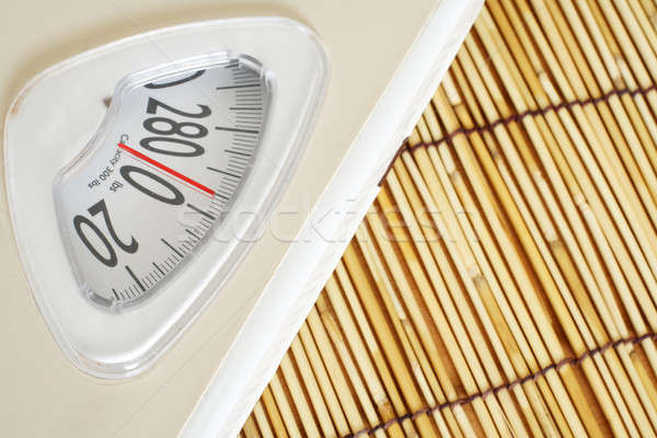 Weight scale Stock photo © aremafoto