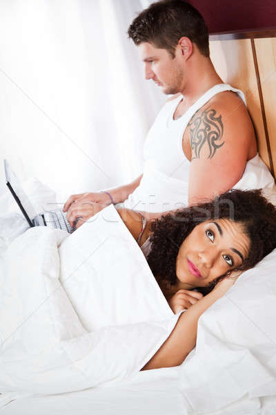 Relationship conflict Stock photo © aremafoto