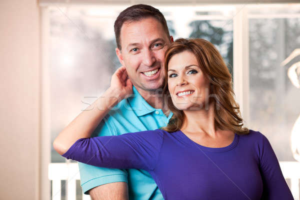 Couple portrait Stock photo © aremafoto