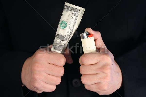 Waste money Stock photo © aremafoto