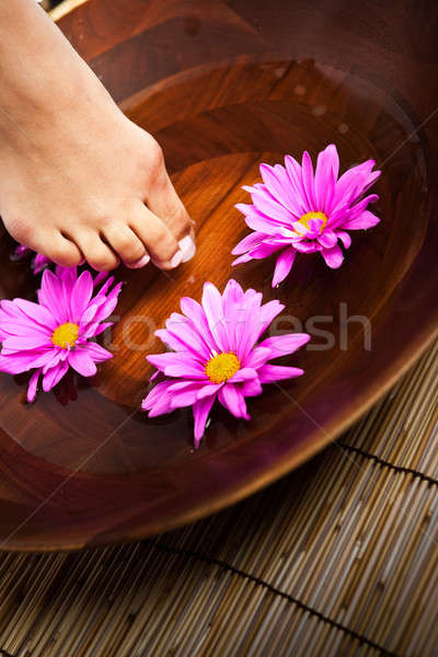 Stock photo: Beauty spa girl