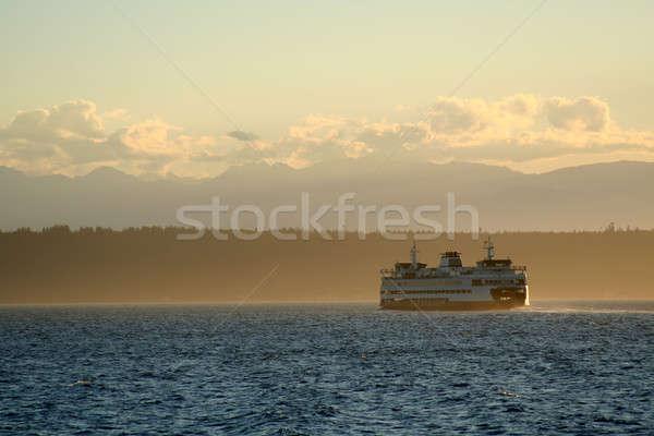 フェリー ボート 旅行 海 海 旅行 ストックフォト © aremafoto