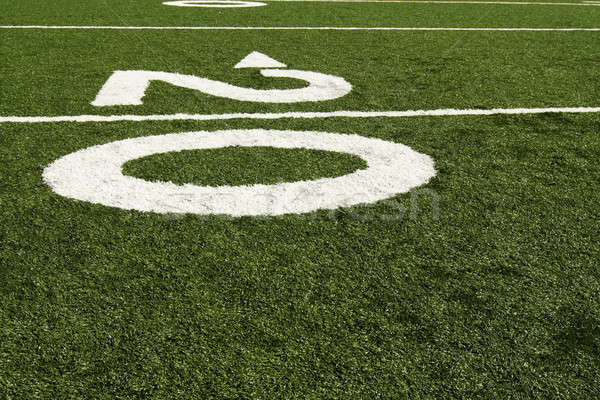 Twenty yard line Stock photo © aremafoto