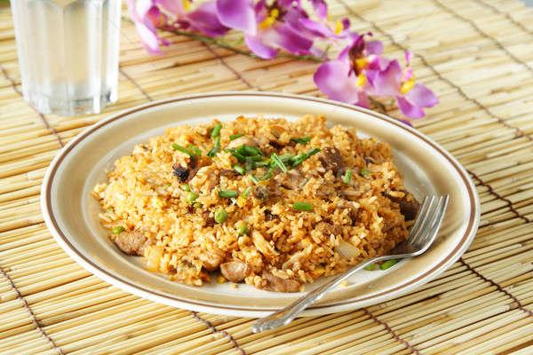Fried rice Stock photo © aremafoto