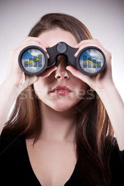 Business vision Stock photo © aremafoto