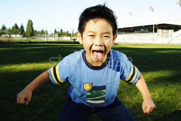 Funny boy Stock photo © aremafoto