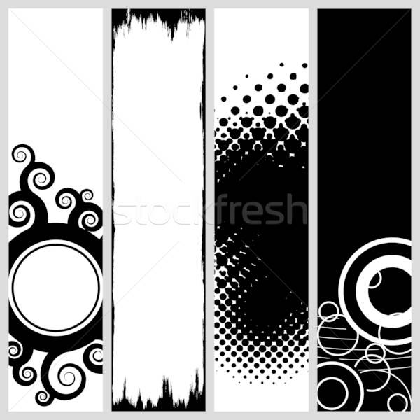 Funky Vertical Banners Stock photo © ArenaCreative