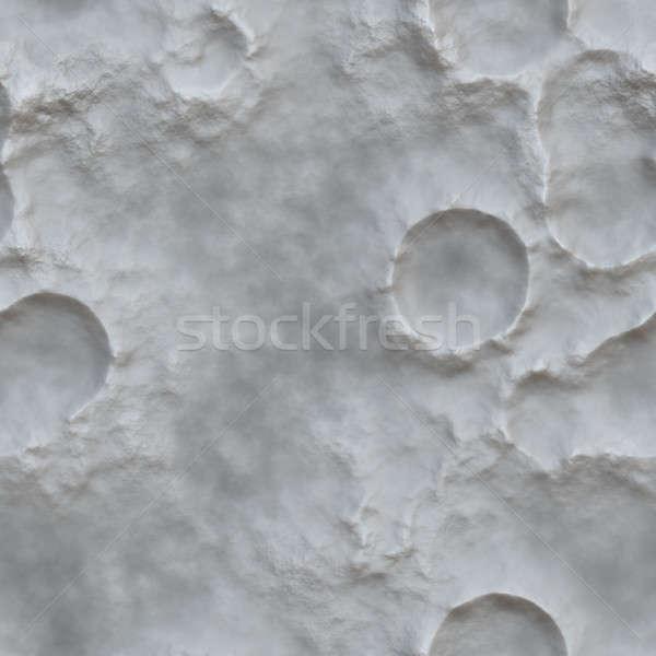 Maan oppervlak krater textuur tegels patroon Stockfoto © ArenaCreative