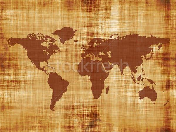 old world map Stock photo © ArenaCreative