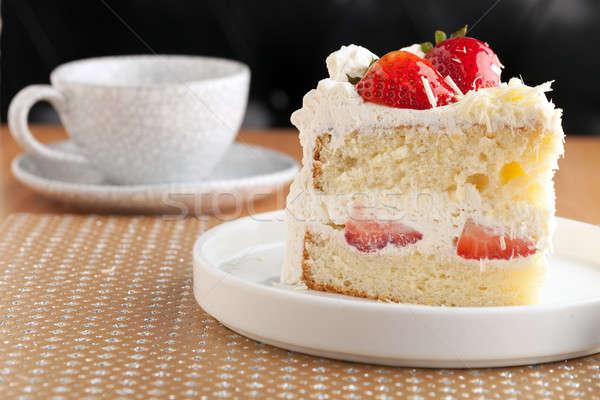 Strawberry Shortcake Stock photo © arenacreative