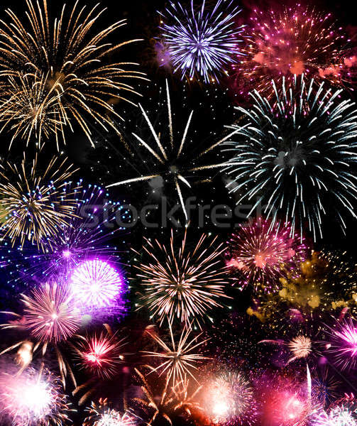 Fireworks Grand Finale Stock photo © ArenaCreative
