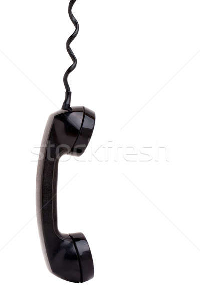 Old Phone Handset Hanging Stock photo © ArenaCreative