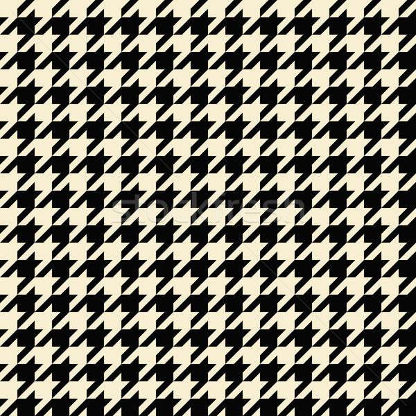 Tan Houndstooth Pattern Stock photo © ArenaCreative