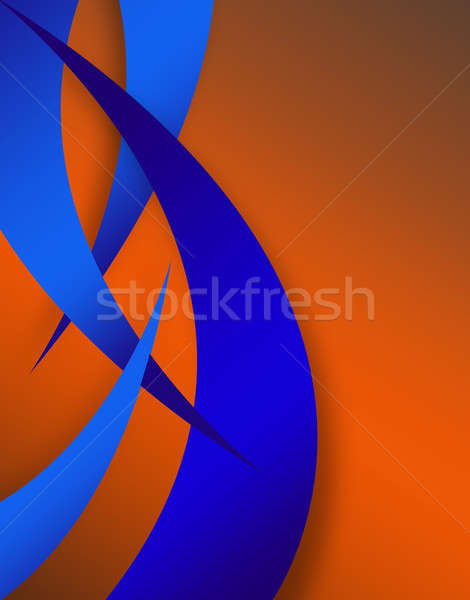 Abstract Swoosh Layout Stock photo © ArenaCreative