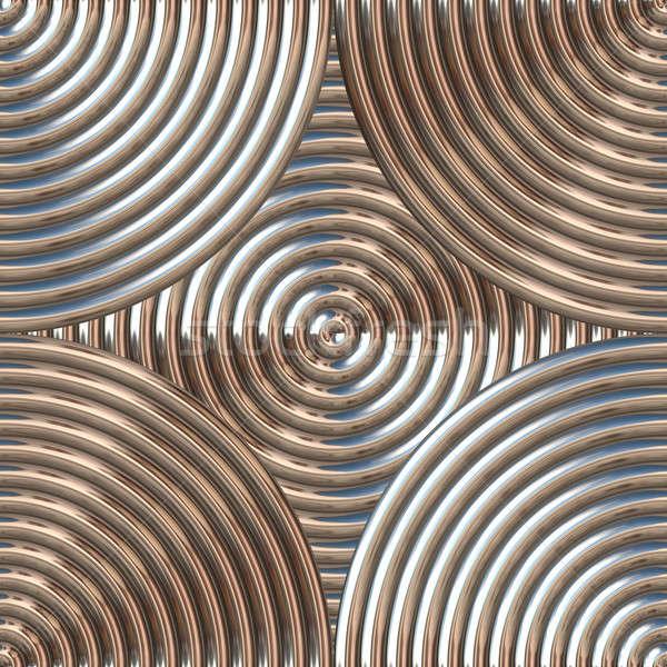 Circular Metal Pattern Stock photo © ArenaCreative