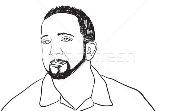 Cool Guy Sketch Stock photo © ArenaCreative