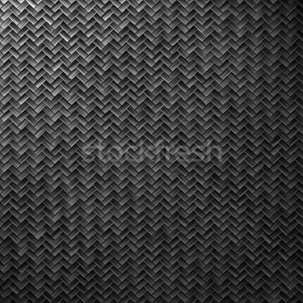 Stock photo: carbon fiber weave