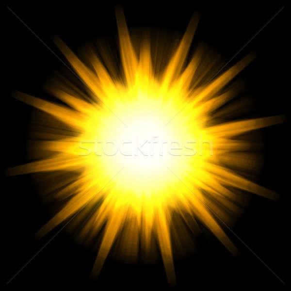 Solar Star Burst Stock photo © ArenaCreative
